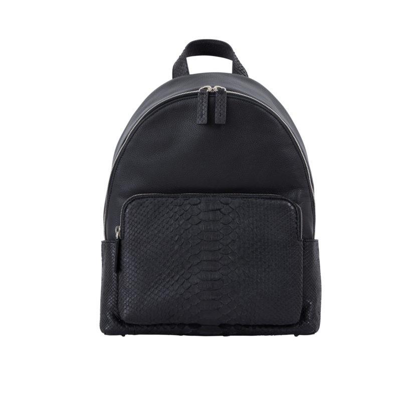 Urban Backpack Black Python & Nappa 1
