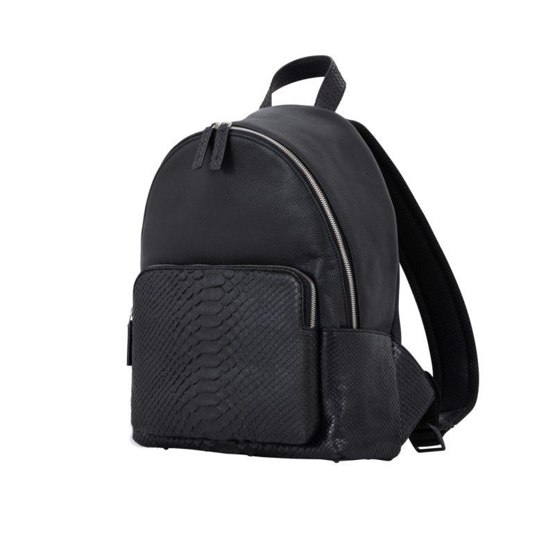 Urban Backpack Black Python & Nappa 2