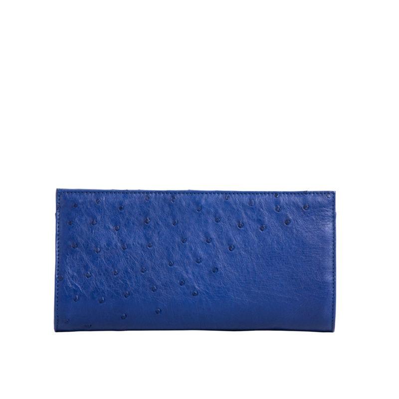 Helen Mod Blue Ostrich 3