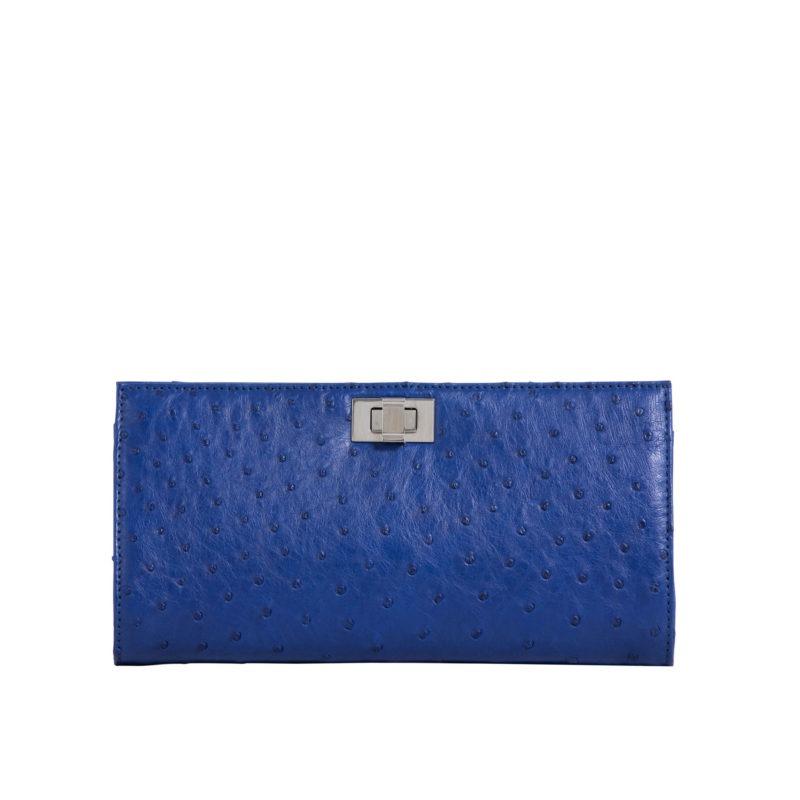 Helen Mod Blue Ostrich 1