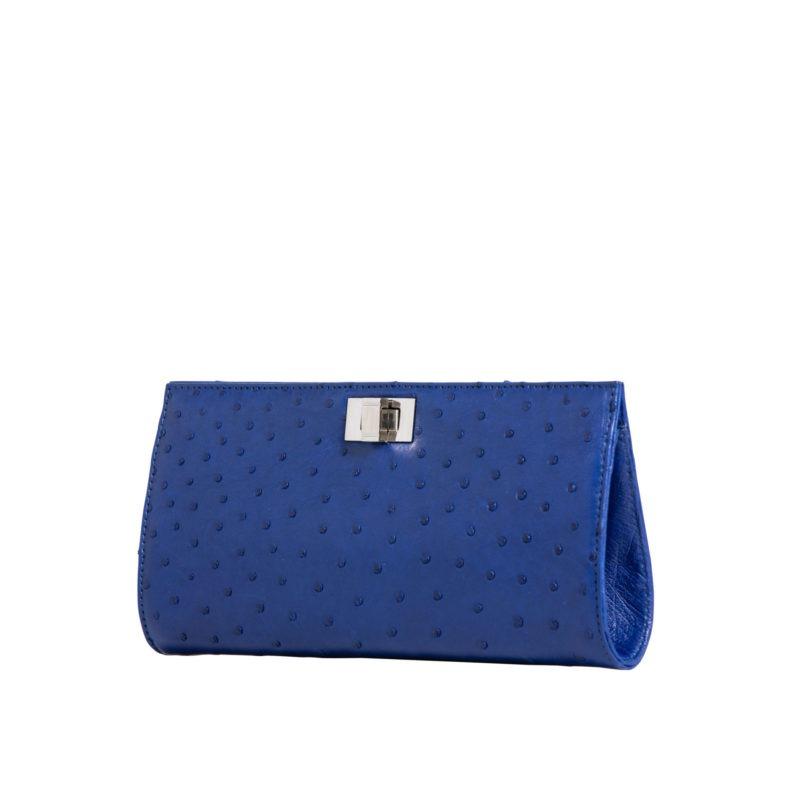 Helen Mod Blue Ostrich 2